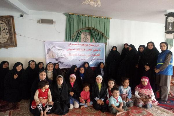 اولین دوره آموزش زنان در حوزه بحران و امداد و نجات برگزار شد