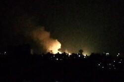 بمباران هوایی گسترده و شبانه دمشق، پایتخت سوریه تکذیب شد