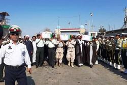 ورود پیکر ۴۴ شهید تازه تفحص شده به کشور