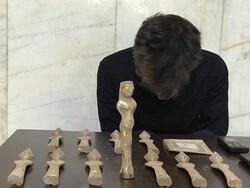 کشف عتیقه های دوره هخامنشی و قاجاریه در پاکدشت/۲ نفر دستگیر شد