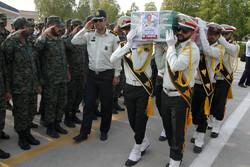 شہید حجۃ اللہ دشتبانی کی تشییع جنازہ