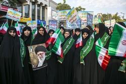 بجنورد میں دختران انقلاب کا عظيم اجتماع