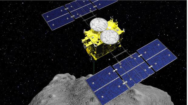 فضاپیمای ژاپنی دوباره روی سیارک فرود آمد