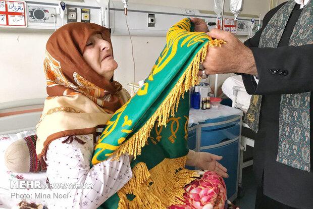 حضور کاروان زیر سایه خورشید در بیمارستان های تبریز
