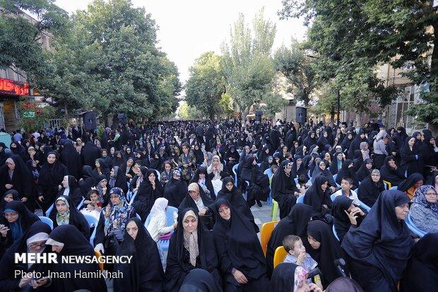 اجتماع بزرگ مردمی عفاف و حجاب در همدان