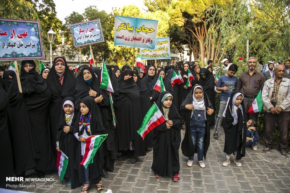 اجتماع «دختران انقلاب» در بجنورد