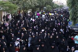 قم میں فاطمی حجاب کی حمایت میں عظیم اجتماع