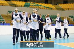 اردوی تیم ملی والیبال بانوان پیش از اعزام به اسلوونی