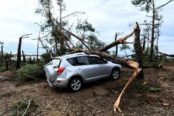 لکسمبرگ میں طوفانی بگولے سے 7 افراد زخمی