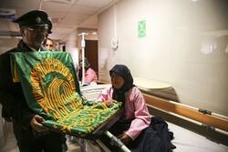 بجنورد کے اسپتال میں خورشید کے زیر سایہ قافلہ کا حضور