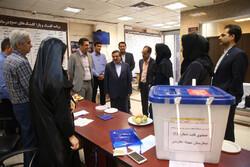 تہران میں مقامی کونسلوں کے پانچویں انتخابات کا سلسلہ جاری