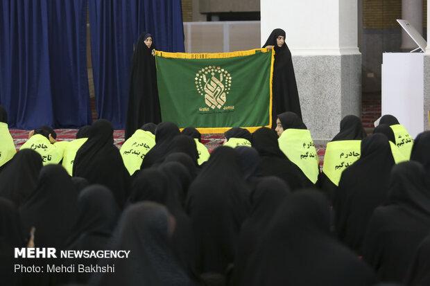 تجمع بزرگ «حجاب میرات کهن» در قم