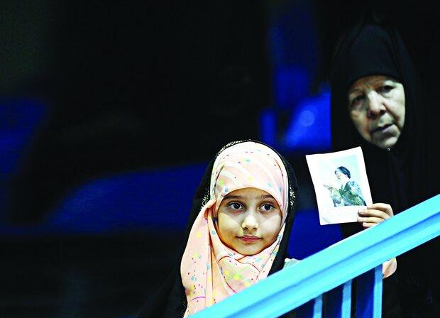 Iranian women gather to mark Modesty and Hijab Day