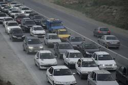 حجم ترافیک در جادههای زنجان سنگین است