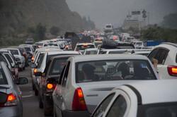 ترافیک سنگین در مبادی ورودی و خروجی شهر تبریز