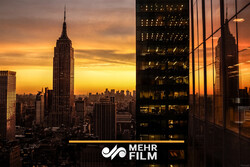 VIDEO: NYC's special sunset