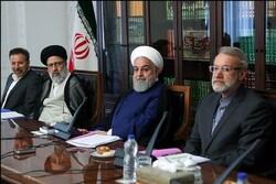 روحاني يستضيف اجتماع المجلس الاعلى للتنسيق الاقتصادي