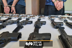 VIDEO: Major gun-smuggling circle in Golestan province disbanded