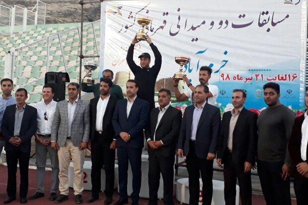 تیم «همدان» قهرمان مسابقات دوومیدانی جوانان کشور شد