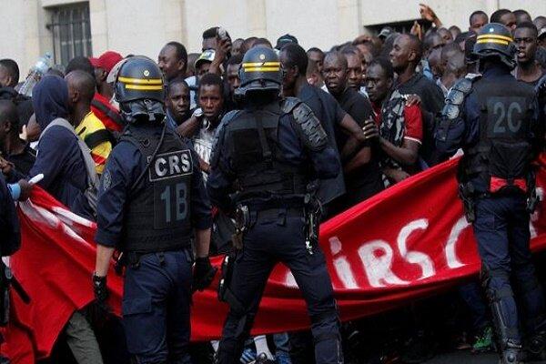تظاهرات «جلیقه سیاهها» در پاریس