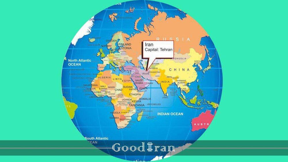 Iran On Map - Tehran Times