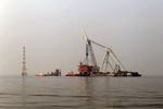 آخرین سکوی فاز ۱۴ پارس جنوبی نصب شد/ افزایش ۵۰ میلیون مترمکعبی تولید گاز