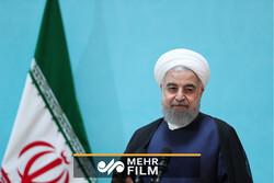 لحظه ورود رئیسجمهور به خراسان شمالی