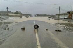 ۴۳ مسیر روستایی در سطح شهرستان مهرستان مسدود شد