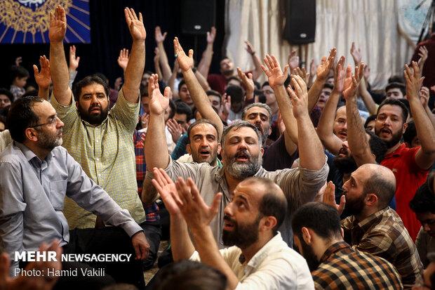 جشن میلاد امام رضا(ع) در در هیئت ریحانة الحسین