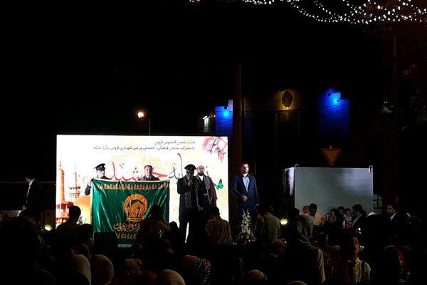 جشن ولادت امام رضا (ع) در قزوین برگزار شد