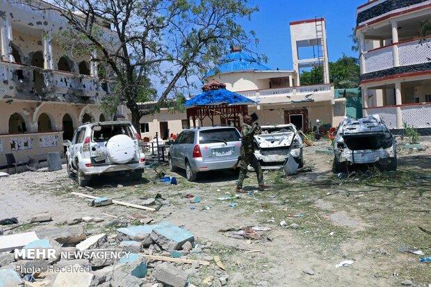 حمله مرگبار به هتلی در سومالی