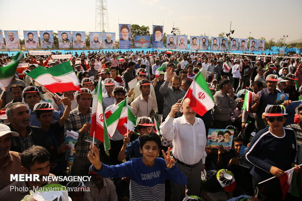 President Rouhani visits Bojnurd