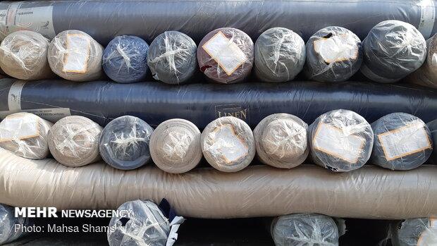 کشف پارچه های قاچاق به ارزش ۷۰۰ میلیون ریال در دهلران