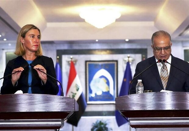 EU, Iraq supporters of peace proposal over US, Iran tension