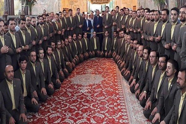 «امام دلها» جدیدترین اثر گروه محمد رسول الله (ص) منتشر شد