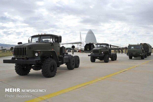 تحویل محموله «اس 400» روسی به ترکیه