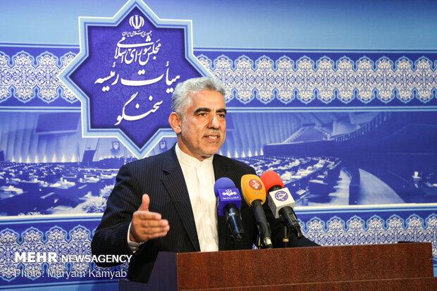 نشست خبری سخنگوی هیات رئیسه مجلس شورای اسلامی