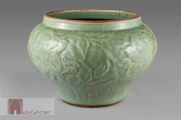 A celadon bowl dating back to Safavid era (1501–1736)