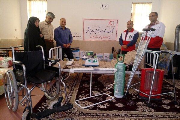 بانک امانت تجهیزات پزشکی شهرستان بشرویه راه اندازی شد