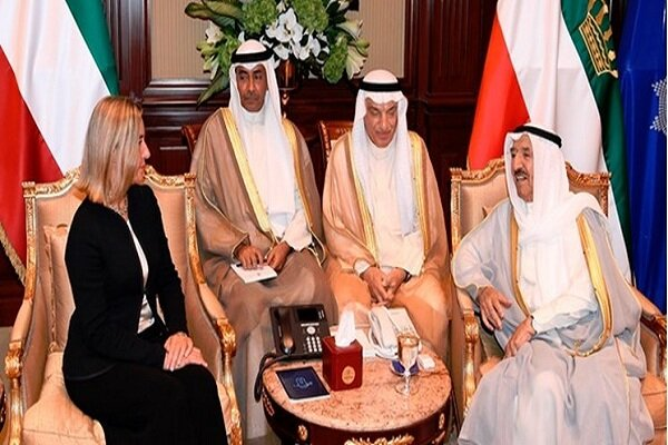 موگرینی با امیر کویت دیدار کرد
