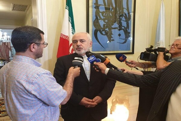Zarif arrives in New York to attend UN meeting