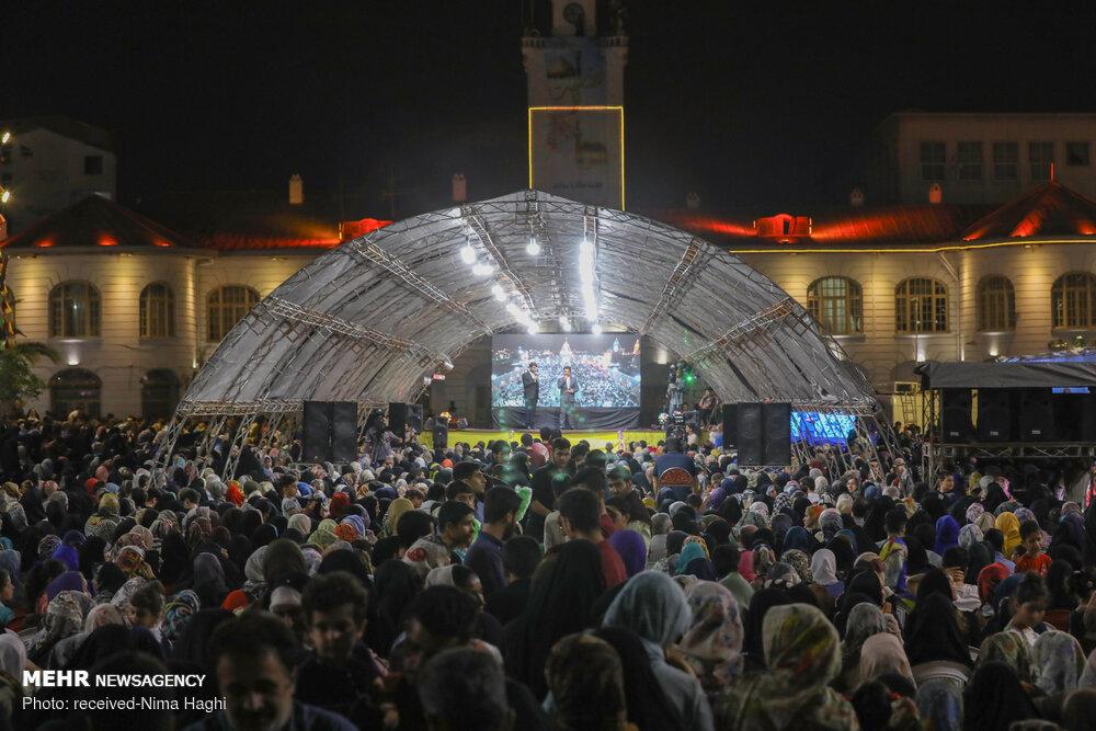 جشن میلاد امام رضا (ع) در رشت