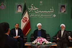 Rouhani's presser during North Khorasan tour