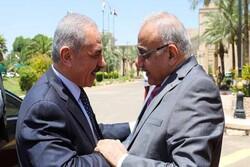 عادل عبدالمهدی با محمد اشتیه در بغداد دیدار و گفتگو کرد