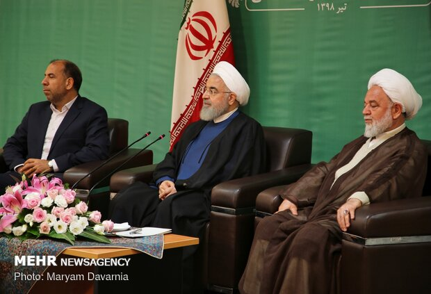 Rouhani's presser during North Khorasan tour