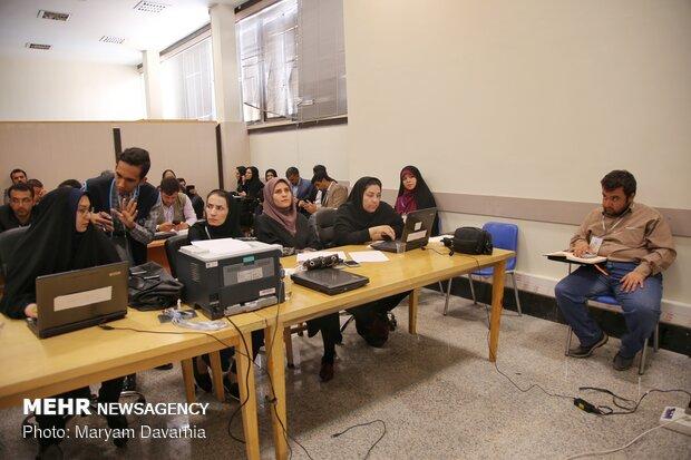 نشست خبری حسن روحانی رئیس جمهور در خراسان شمالی