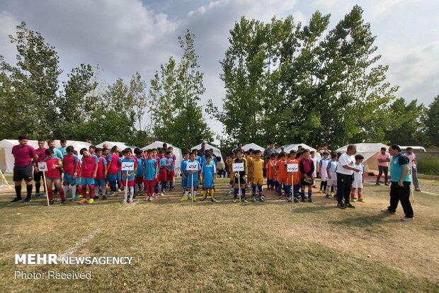 Selzede Türkmen çocuklar futbol turnuvasıyla eğlendi