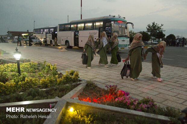 Pilgrims from Golestan province leave for holy lands in KSA