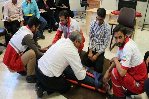 هلالاحمر استان سمنان به ۴۳ حادثه امدادرسانی کرد