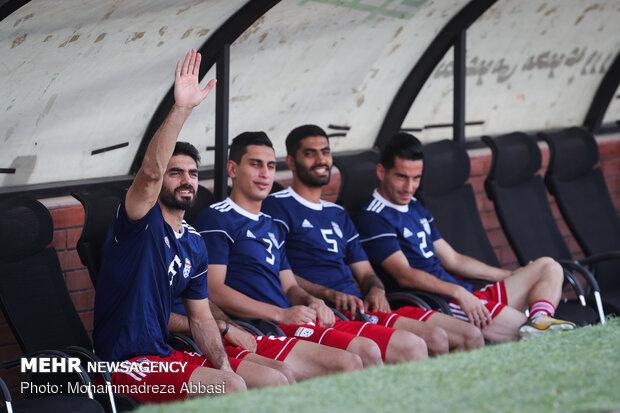 دیدار تدارکاتی بین تیم های ملی امید و بزرگسالان ایران